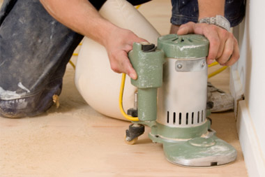 The floor sanding company dust free floor sanding for Floor sanding courses